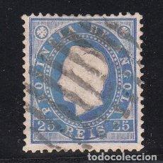 Sellos: ANGOLA COLONIA PORTUGUESA .18 AZUL USADA,. Lote 258986025