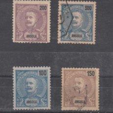 Sellos: ANGOLA COLONIA PORTUGUESA .47/50 USADA,. Lote 258988060