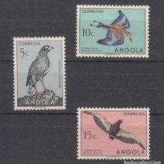 Sellos: ANGOLA COLONIA PORTUGUESA 328/30 CON CHARNELA, FAUNA, PAJAROS,. Lote 258988500