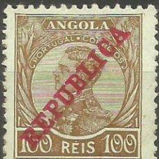 Sellos: ANGOLA COLONIA PORTUGUESA YVERT NUM. 110 * NUEVO CON FIJASELLOS. Lote 260516375