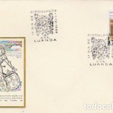 Sellos: ANGOLA & PORTUGAL ULTRAMAR,REUNIÓN DE INGENIERÍA PETROLERA, LUANDA 1970 (382). Lote 271059753