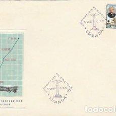Sellos: ANGOLA & PORTUGAL ULTRAMAR, CENTENARIO DE CARLOS VIEGAS GAGO COUTINHO, LUANDA 1869-1969 (7775). Lote 271065308