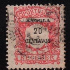 Timbres: ANGOLA (COLONIA PORTUGUESA) SELLO USADO. Lote 283106398