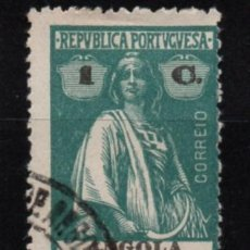 Timbres: ANGOLA (COLONIA PORTUGUESA) SELLO USADO. Lote 283106588