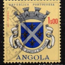 Timbres: ANGOLA (COLONIA PORTUGUESA) SELLO USADO. Lote 283106598