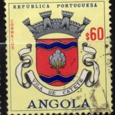 Timbres: ANGOLA (COLONIA PORTUGUESA) SELLO USADO. Lote 283106643