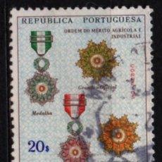 Timbres: ANGOLA (COLONIA PORTUGUESA) SELLO USADO. Lote 283106843