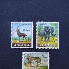 Sellos: ## SELLO NUEVO ANGOLA 1953 FAUNA 3 SELLOS ##. Lote 291041678