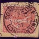 Sellos: ARGELIA. (CAT. 129 FRANCIA). 10 CTS. SEMBRADORA. MAT. FECHADOR *CONSTANTINE/CONSTANTINE* DE ARGELIA.. Lote 27255735