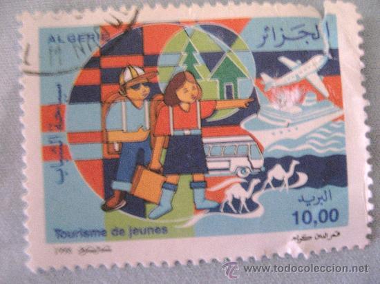 SELLO -ARGELIA- TOURISME JEUNES AÑO 1998 USADO (Sellos - Extranjero - África - Argelia)