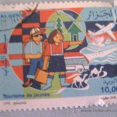 Sellos: SELLO -ARGELIA- TOURISME JEUNES AÑO 1998 USADO. Lote 20657030