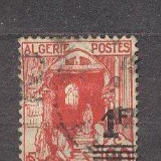 Sellos: ALGERIE, 1939-40, VISTAS DE ALGER, 90C CON SOBRECAGA DE 1F.. Lote 20797804