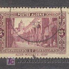Sellos: ALGERIE, 1936-37, MOSQUEE EL KEBIR A ALGER. Lote 20798132