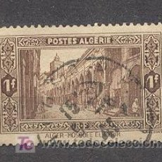 Sellos: ALGERIE, 1936-37, MOSQUEE EL KEBIR A ALGER. Lote 20798139