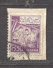 ARGELIA, MECANICA (Sellos - Extranjero - África - Argelia)