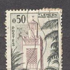 Sellos: ALGERIE,(RÉPUBLIQUE FRANÇAISE),MOSQUEE DE TLEMCEN. Lote 21989690