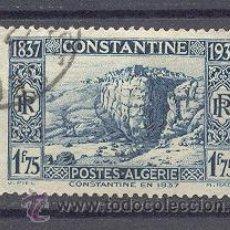 Sellos: ALGERIA, 1937- YVERT TELLIER 133. Lote 21766930