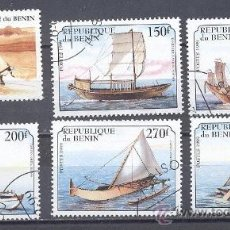 Timbres: BENIN (ANTIGUO DAHOMEY) 1999, YVERT TELLIER 868,869,870,871,872,708H, PRECANCELADO. Lote 23003267