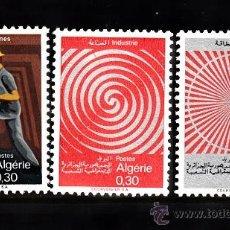Sellos: ARGELIA 481/83** - AÑO 1968 - REALIZACIONES NACIONALES. Lote 38506847