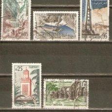 Sellos: ARGELIA YVERT NUM. 364/8 SERIE COMPLETA USADA. Lote 43081191