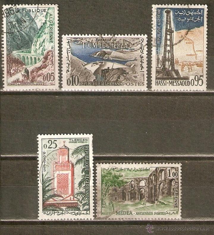 ARGELIA YVERT NUM. 364/8 SERIE COMPLETA USADA (Sellos - Extranjero - África - Argelia)