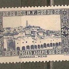 Sellos: ARGELIA COLONIA FRANCESA YVERT NUM. 141A ** NUEVO SIN FIJASELLOS . Lote 113471358