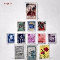 Sellos: LOTE DE 14 SELLOS DE ARGELIA, USADOS.. Lote 71959455