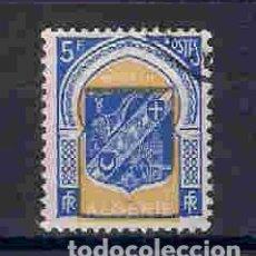 Sellos: ESCUDO DE ARMAS DE TLEMCEN, ARGELIA. SELLO AÑO 1956. Lote 106558327