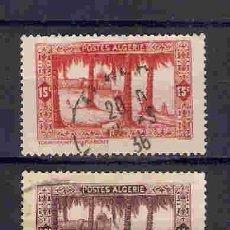 Sellos: ÁRBOLES DE ARGELIA. SELLOS AÑO 1936/7. Lote 88662140