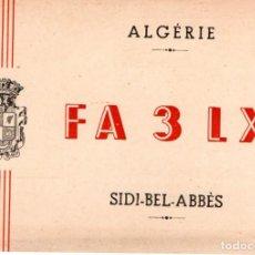 Sellos: QSL FA 3 LX SIDI-BEL-ABBES (ORAN) 1960. Lote 105043827