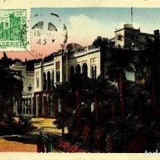 Sellos: ARGELIA SCOTT: 168-(1944) [PALACIO DE VERANO GUBERNAMENTAL ] (TARJETA MÁXIMA). Lote 111816123