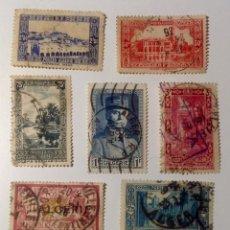 Sellos: 8 SELLOS DE COLONIA FRANCESA - ARGELIA. Lote 112787487