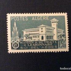 Sellos: ARGELIA Nº YVERT 334*** AÑO 1956. OBRAS DE LA LEGION EXTRANJERA. Lote 113369059