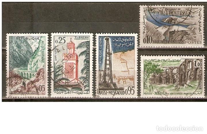 ARGELIA YVERT 364/368 SERIE COMPLETA USADA (Sellos - Extranjero - África - Argelia)