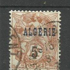 Timbres: FRANCIA COLONIAS- USADO ALGERIA 1927. Lote 135340062