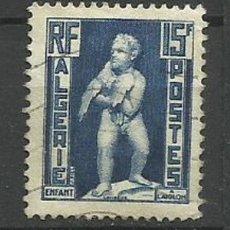 Timbres: FRANCIA COLONIAS- USADO - ALGERIE 1952. Lote 135340674