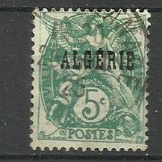 Timbres: FRANCIA COLONIAS- USADO - ALGERIE 1925. Lote 135340794