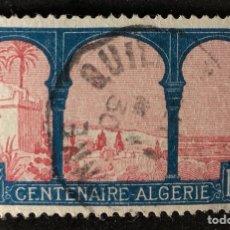 Sellos: SELLO CLÁSICO EN USADO DE ARGELIA 50C- CENTENARIO ARGELIA. Lote 147433701