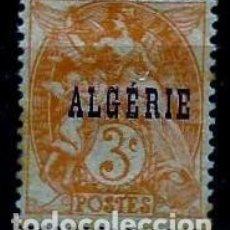 Sellos: ARGELIA SCOTT: 3-(1924) (ALEGORÍA DE LA JUSTICIA-3C) NUEVO**CON/CH . Lote 151517978