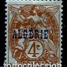 Sellos: ARGELIA SCOTT: 4-(1924) (ALEGORÍA DE LA JUSTICIA-4C) NUEVO**CON/CH . Lote 151518242