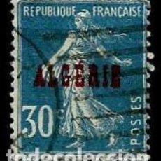 Sellos: ARGELIA SCOTT: 16-(1924) (ALEGORÍA DE LA SEMBRADORA-30C) USADO. Lote 151518986