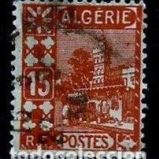 Sellos: ARGELIA SCOTT: 38-(1926) (MEZQUITA DE SIDI ABDER RAHMAN-15C) USADO. Lote 151519442