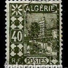 Sellos: ARGELIA SCOTT: 47-(1926) (MEZQUITA DE SIDI ABDER RAHMAN-40C) USADO. Lote 151519650