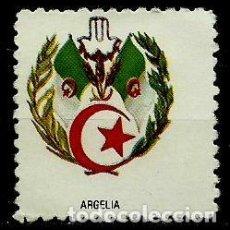 Sellos: ARGELIA (VIÑETA) (ESCUDO NACIONAL). Lote 151546446