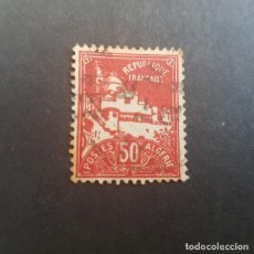 Sellos: ARGELIA,COLONIA FRANCESA,1926-1939,MEZQUITA DE LA PESQUERÍA,SCOTT 50,USADO,(LOTE AG). Lote 151836218