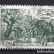 Sellos: ARGELIA 1982 - VISTAS DE ARGELIA ANTES DE 1930 - SELLO USADO. Lote 172222023