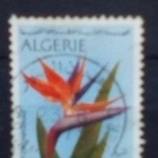 Sellos: ARGELIA FLORA SELLO USADO. Lote 172827400