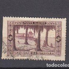 Sellos: ARGELIA ( COLONIA FRANCESA ).1936-37. YVERT 110.USADO.. Lote 175506565