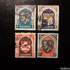 Sellos: ARGELIA. YVERT 268/71. SERIE COMPLETA USADA. ESCUDOS.. Lote 180150807