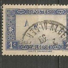 Timbres: ARGELIA COLONIA FRANCESA YVERT NUM. 101 USADO. Lote 190850388